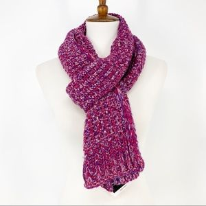 Echo Design Knit Sequin Oblong Scarf